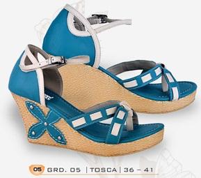 sandal wanita wedges terbaru